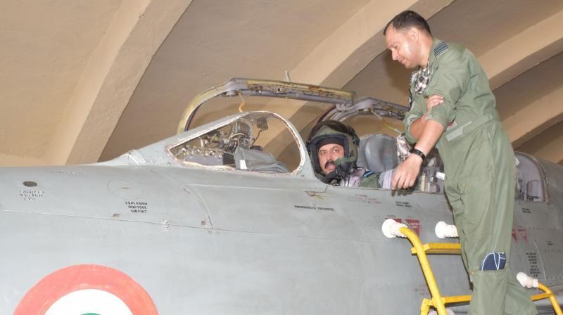 IAF chief RKS Bhadauria reviews readiness at Western Air Command, flies MiG-21 Bison