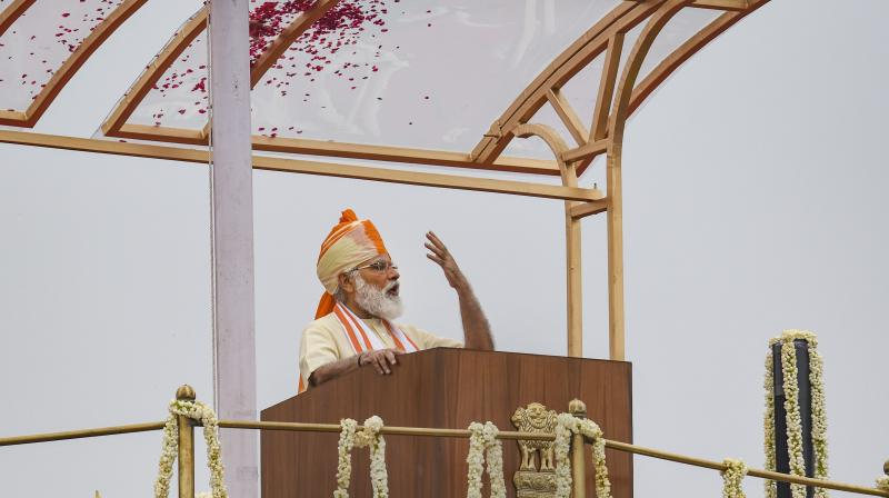 PM Modi makes a passionate pitch for aatmanirbhar India in Independence Day address