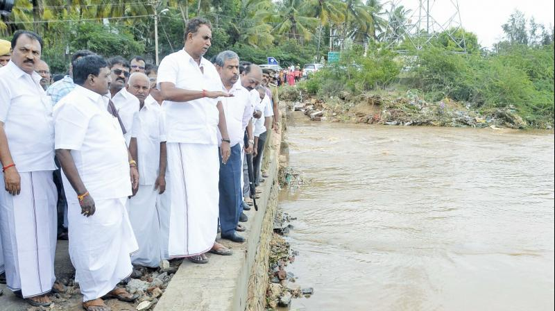 The Pillur dam has reached a new height of 97.5-ft against its level of 100-ft and the Siruvani water level has touched 43-ft against its full level of 50-ft. The rainfall recorded was 275.47 mm, added the minister.