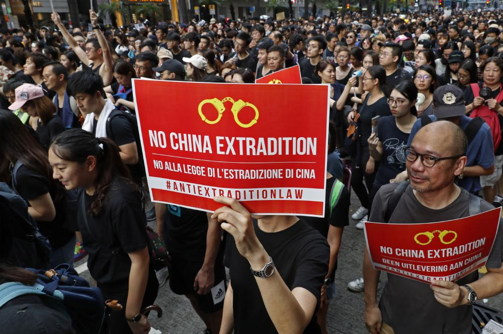 Anti-extradition bill protests...