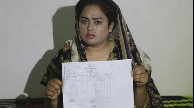 Natasha was one of hundreds of Pakistani girls who have been married off to Chinese men in return for cash payments to their families, most of them Christians, a community that is among the poorest of the poor in the country. (Photo: AP)
