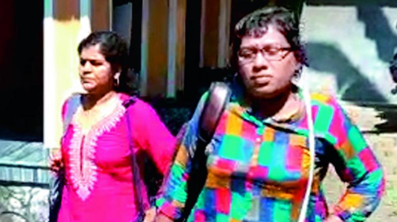 Two Kerala women claim they visited Sabarimala shrine early today