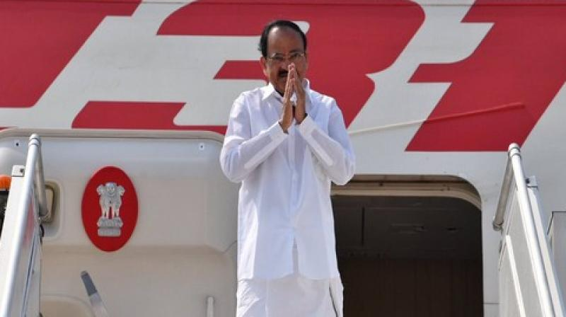 Naidu's trip will mark the first high-level visit from India to the two African countries.  (Photo: ANI)
