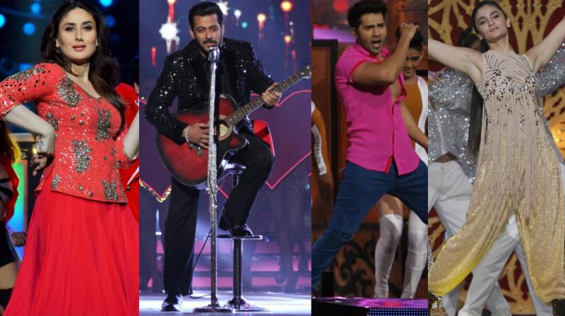 Several Bollywood stars gave dazzling performances at the Zee Cine Awards 2017. The event will be telecast on Saturday.