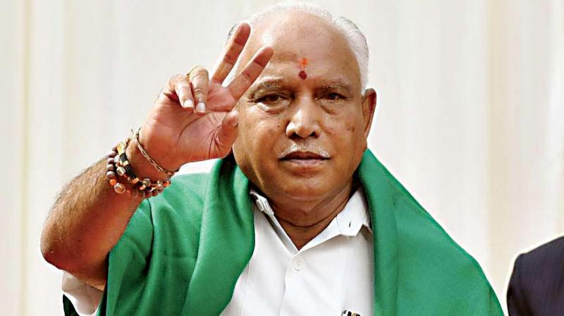"In what is seen as an indication that most of the disqualified legislators who joined BJP on Thursday will be party's candidates for December 5 bypolls, Karnataka Chief Minister B S Yediyurappa called them as ""future MLAs and Ministers"", as he assured of keeping up the promise made to them. (Photo: File)"