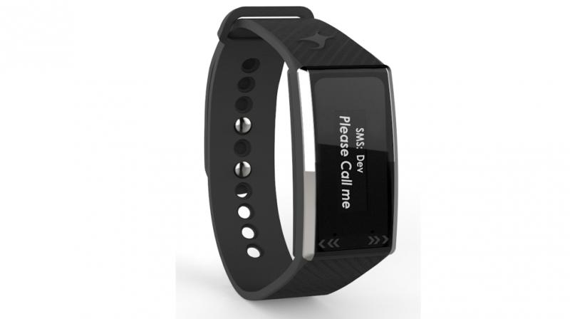 The Gesture Band also enables user to send auto replies to SMS, set meeting and alarm alerts in addition to music and camera control, presentation control and advanced gesture control.