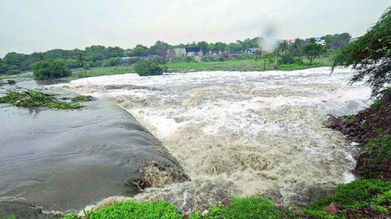 The Andhra Pradesh government is contemplating a legal battle against the Maharashtra and Karnataka governments for denying the 'rightful share' of Krishna river water to the state. (Representational Image)