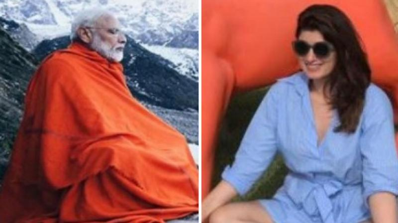 Twinkle Khanna took an apparent jibe at Prime Minister Narendra Modi's meditation session in Kedarnath caves, the pictures of which have now gone viral. (Photo: ANI)