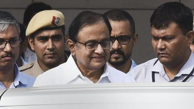 Chidambaram is currently in judicial custody in Tihar jail in a corruption case related to the alleged scam being probed by the Central Bureau of Investigation (CBI). (Photo: File)