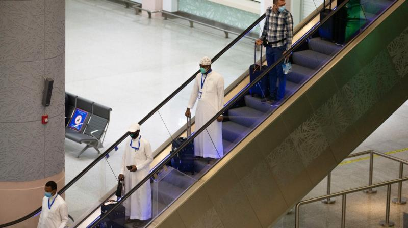 Saudi's annual Hajj pilgrimage will start this Wednesday amid growing concerns about the coronavirus pandemic. (Saudi Ministry of Media via AP)