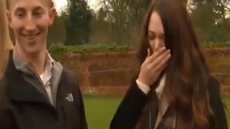 Man Proposes To Girlfriend While Waiting To Watch Meghan Markle And