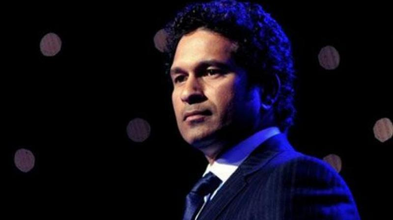 Sachin Tendulkar's debut Rajya Sabha speech interrupted by sloganeering by Congress MPs