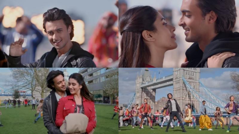 Some stills from 'Loveratri'.