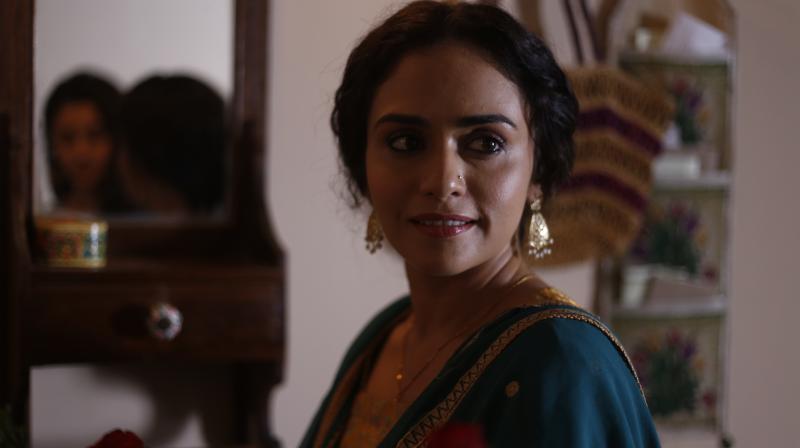 Amruta Khanvilkar in 'Raazi'.