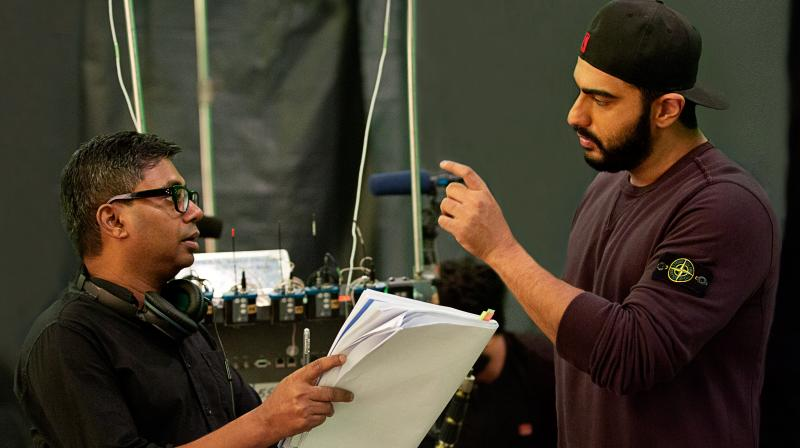 Rajkumar Gupta and Arjun Kapoor.