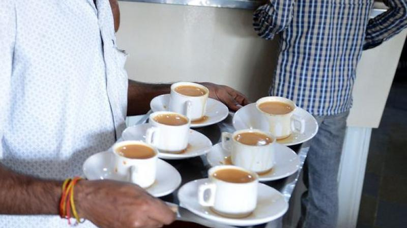 Two cups of coffee have also been linked to a better sex life (Photo: AFP)