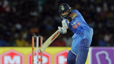 Virat Kohli got to his 49th ODI fifty. (Photo: AP)
