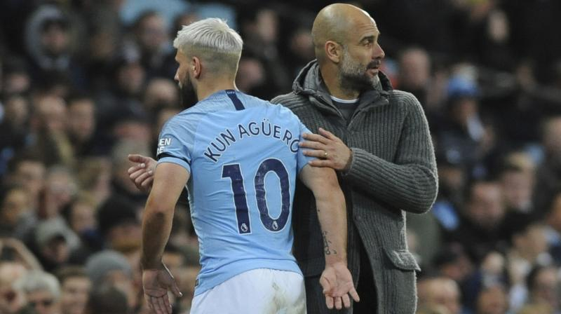 City have amassed 95 points this season, only five short of the English top-division record of 100 they set in winning the title 12 months ago. (Photo: AP)
