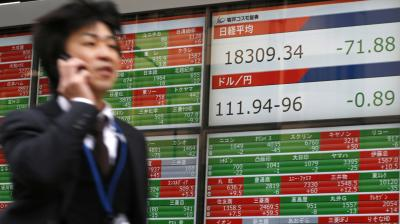 MSCI's broadest index of Asia-Pacific shares outside Japan rose 0.53 per cent, while Japan's Nikkei rose 0.54 per cent. (Photo:File | AP)