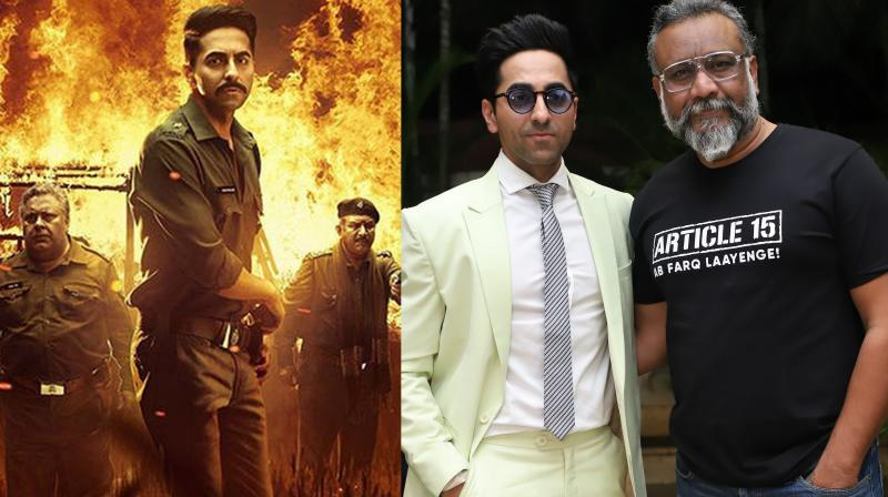 Ayushmann will be seen in the role of a cop in Anubhav Sinha's 'Article 15' which will hit the screens on June 28, 2019.