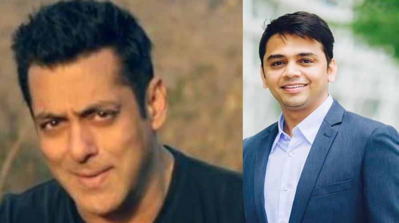 Salman Khan and Shylesh Jain.