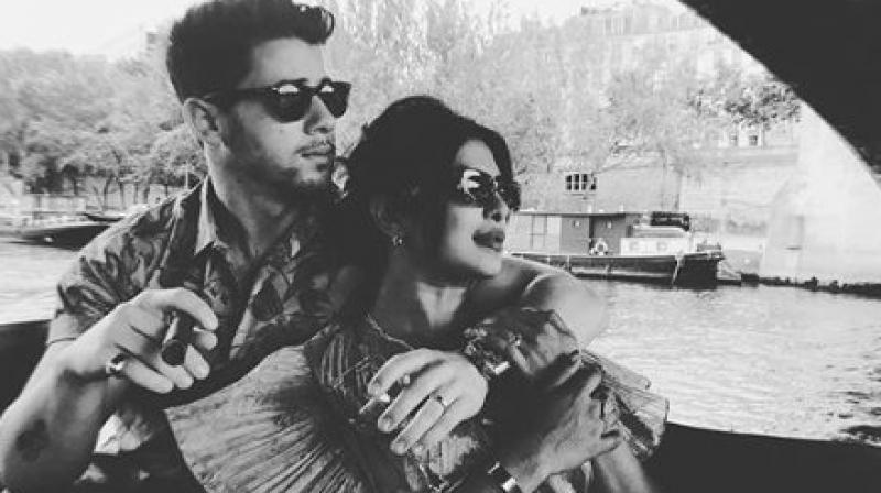 Priyanka and Nick in Paris. (Photo: Instagram)