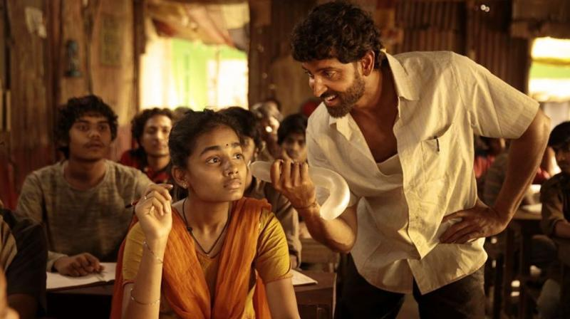 A still from Super 30.