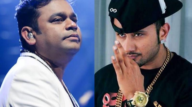 A R Rahman and Yo Yo Honey Singh.