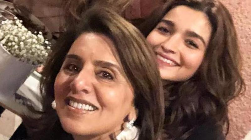 Alia Bhatt with Neetu Kapoor. (Photo: Instagram)