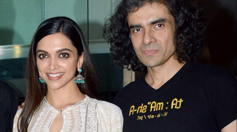 Deepika Padukone with director Imtiaz Ali. (File Photo)