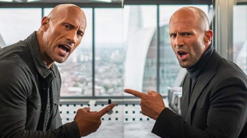 A still from 'Hobbs & Shaw'.