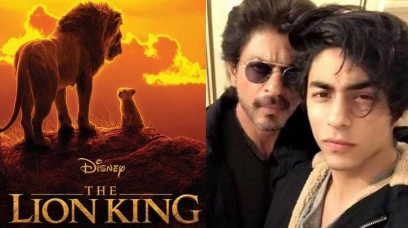 The Hindi version has SRK lending his voice to Mufasa and Aryan to Simba.