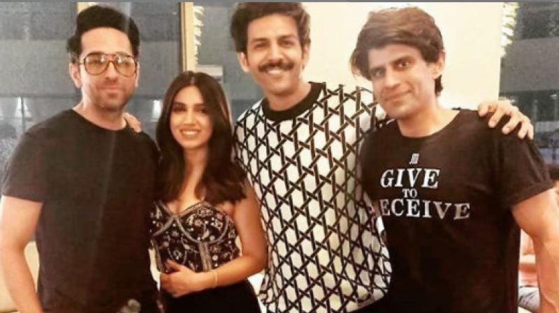 Currently, Bhumi along with Kartik Aaryan and Ananya Panday is shooting in Lucknow for their upcoming. (Photo: Instagram)