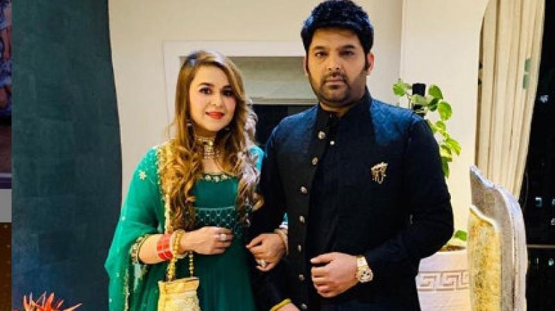 Kapil Sharma is a proud father of a baby girl
