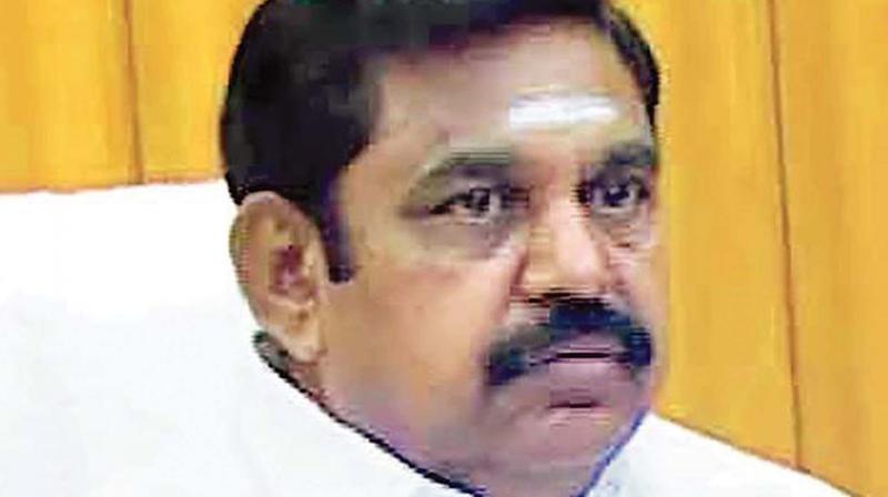 Chief Minister Edappadi K. Palaniswami