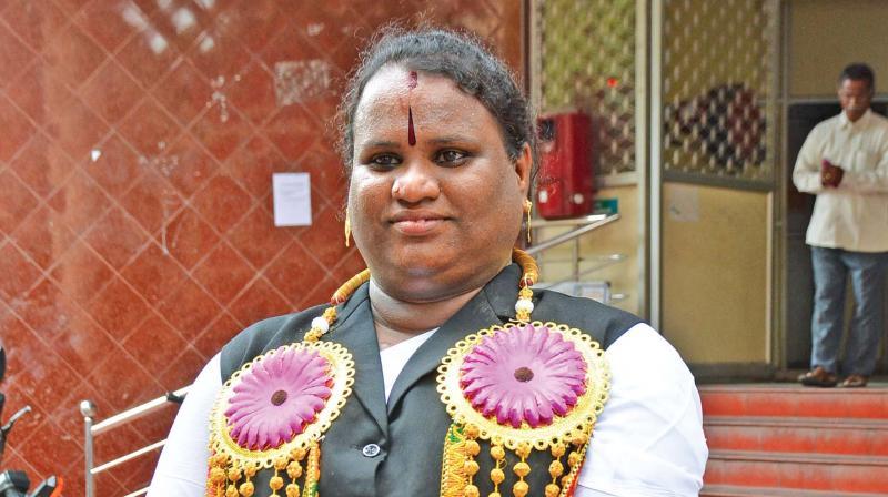 Sathyasri Sharmila is Tamil Nadu's first  transgender advocate (Photo: DC)