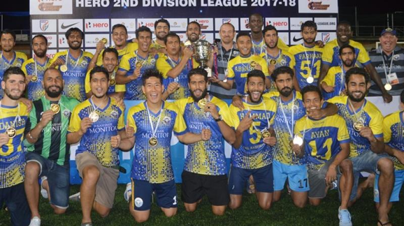 While Real Kashmir FC in May became the first club in the Valley to make into the I-League, for the coach David Robertson the job offers are coming rather thick and fast. (Photo: PTI)