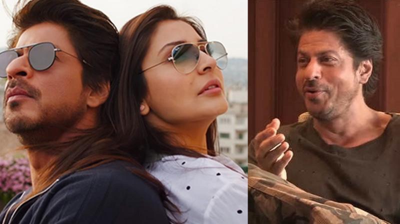 """I let people down with Jab Harry Met Sejal"", said Shah Rukh Khan."