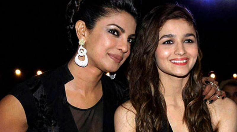 Image result for priyanka and alia bhatt