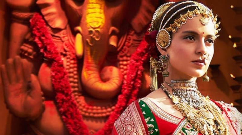 Kangana Ranaut in the still from her upcoming film 'Manikarnika: The Queen of Jhansi'.