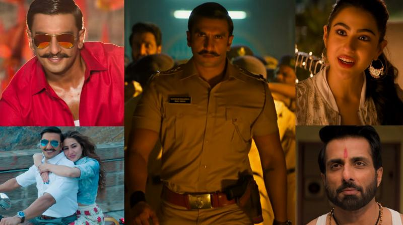 Screengrabs from Simmba trailer. (Courtesy: YouTube/Reliance Entertainment)