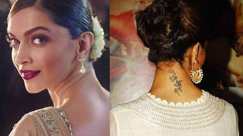 exclusive the truth about deepika padukone s rk tattoo revealed. Black Bedroom Furniture Sets. Home Design Ideas