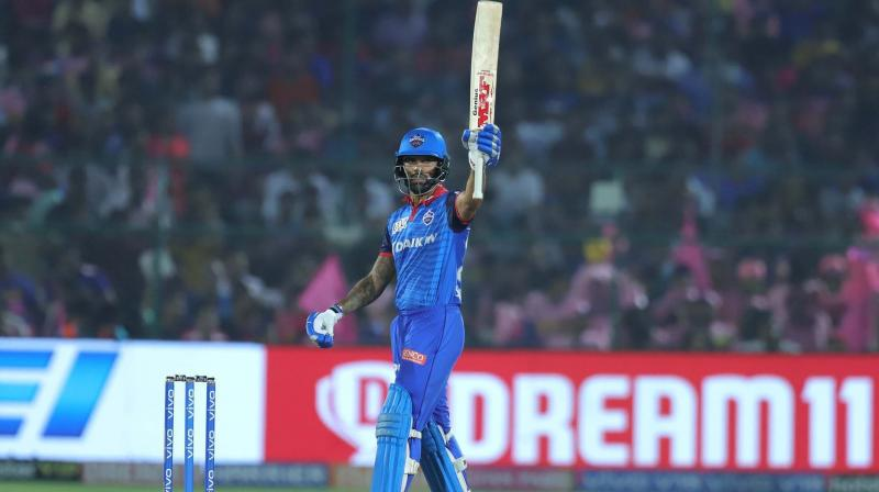 Dhawan is currently playing in IPL for Delhi Capitals, coached by former Australia skipper Ponting while former India captain Ganguly is associated with the franchise as advisor. (Photo: BCCI)