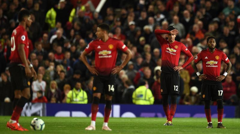Solskjaer has urged his side to keep fighting for Champions League football despite the chastening 2-0 defeat at the hands of City on Wednesday. (Photo: AFP)