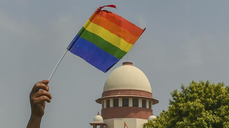 The Supreme Court on Thursday unanimously decriminalised part of Section 377, which criminalises consensual unnatural sex. (Photo: File | PTI)