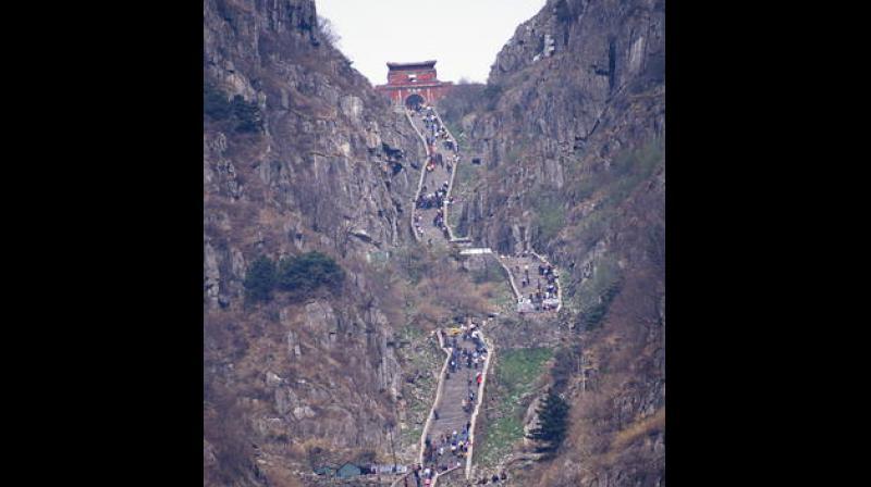 Mount Tai. (Photo: UNESCO WHC)