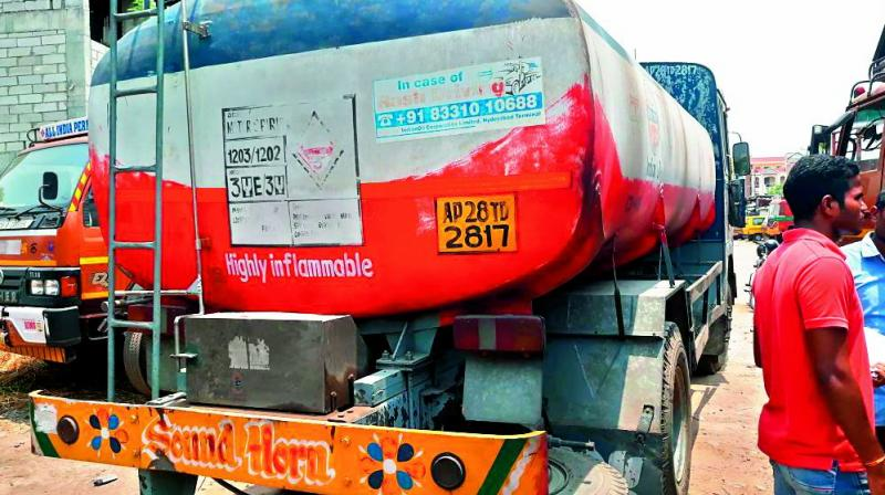 Three held for theft of diesel, petrol from IO tankers