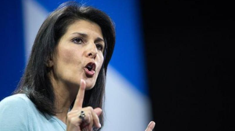 UN Ambassador Nikki Haley Denies Affair with Trump