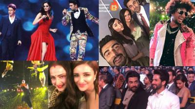 The 63rd edition of the Filmfare Awards were held in a star-studded event in Mumbai on Saturday. (Photos: Instagram)