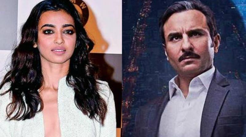 Radhika Apte and Saif Ali Khan.